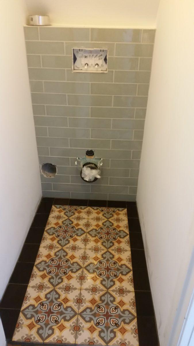 tegelwerk toilet