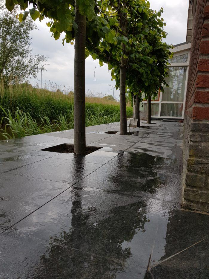 natuursteen terras