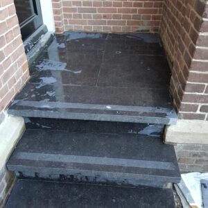 trap van natuursteen